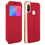 Avizar Etui folio Rouge pour Xiaomi Mi A2 Lite