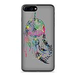 1001 Coques Coque silicone gel Apple IPhone 8 Plus motif Dreamcatcher Gris