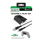 Subsonic Kit de charge Batterie et Câble USB C pour manette Xbox Series X