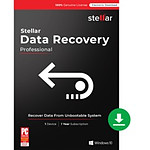 Stellar Data Recovery Professional - Licence 1 an - 1 poste - A télécharger