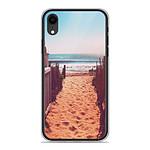 1001 Coques Coque silicone gel Apple iPhone XR motif Chemin de plage