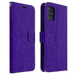 Avizar Etui folio Violet pour Samsung Galaxy A71