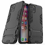 Lapinette Coque Anti Chocs pour Apple iPhone 11 Pro Max Modèle Iron Noir