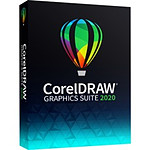 CorelDRAW Graphic Suite 2020  - Licence 1 an - 1 poste - A télécharger