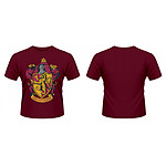 Harry Potter - T-Shirt Gryffindor Crest - Taille XL