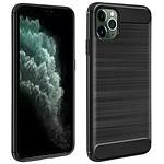 Avizar Coque Noir Finition Carbone pour Apple iPhone 11 Pro