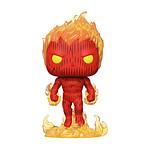 Les 4 Fantastiques - Figurine POP! Human Torch 9 cm