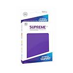 Ultimate Guard - 80 pochettes Supreme UX Sleeves taille standard Violet