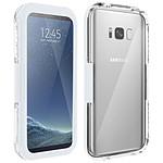 Avizar Coque étanche Blanc pour Samsung Galaxy S8
