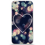 1001 Coques Coque silicone gel Apple IPhone 7 motif Coeur Love