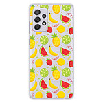 1001 Coques Coque silicone gel Samsung Galaxy A52 motif Fruits tropicaux