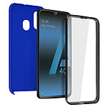 Avizar Coque Bleu pour Samsung Galaxy A40