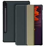 Avizar Etui folio Gris pour Samsung Galaxy Tab S7 11.0