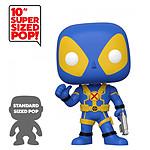 Marvel - Figurine Super Sized POP! Deadpool Thumb Up Blue Deadpool 25 cm