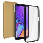 Avizar Coque Dorée pour Samsung Galaxy A7 2018
