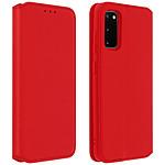 Avizar Etui folio Rouge pour Samsung Galaxy S20