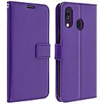 Avizar Etui folio Violet pour Samsung Galaxy A40