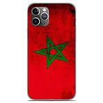 1001 Coques Coque silicone gel Apple iPhone 11 Pro motif Drapeau Maroc