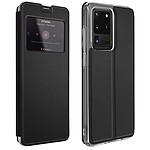 Avizar Etui folio Noir pour Samsung Galaxy S20 Ultra