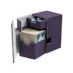 Ultimate Guard - Boîte pour cartes Flip'n'Tray Deck Case 100+ taille standard XenoSkin Violet