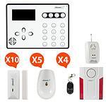 Atlantic'S ATEOS - Alarme de maison sans fil GSM Kit Extra