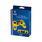 PSG Paris Saint Germain Kit de customisation Deluxe N 10 Jaunepour manette PS4