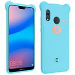Avizar Coque Bleu pour Huawei P20 Lite