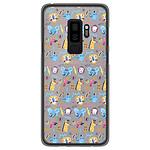 1001 Coques Coque silicone gel Samsung Galaxy S9 Plus motif Happy animals