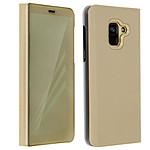Avizar Etui folio Dorée pour Samsung Galaxy A8