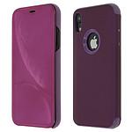 Avizar Etui folio Violet pour Apple iPhone XR