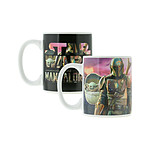 Star Wars The Mandalorian - Mug effet thermique The Mandalorian