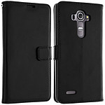 Avizar Etui folio Noir pour LG G4