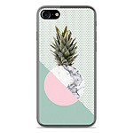 1001 Coques Coque silicone gel Apple IPhone 8 motif Ananas marbre