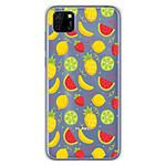 1001 Coques Coque silicone gel Huawei Y5P motif Fruits tropicaux