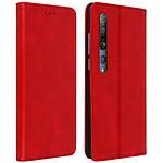 Avizar Etui folio Rouge pour Xiaomi Mi 10 , Xiaomi Mi 10 Pro