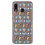 1001 Coques Coque silicone gel Samsung Galaxy A20e motif Happy animals