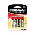 Camelion Blister De 4 Piles 1.5v Aa Super Alcaline LR6-BP4
