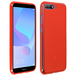 Avizar Coque Rouge pour Huawei Y6 2018