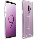 Avizar Coque Transparent Bi-matières pour Samsung Galaxy S9 Plus