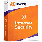 Avast Internet Security - Licence 1 an - 5 postes - A télécharger