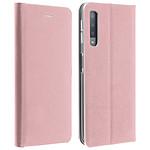 Avizar Etui folio Rose pour Samsung Galaxy A7 2018