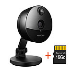 Foscam C1 - Camera compacte infrarouge 10m - 720 P avec carte SD 16 Go
