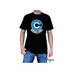 DRAGON BALL - Tshirt DB/ Capsule Corp homme MC black - Taille M