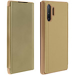 Avizar Etui folio Dorée Design Miroir pour Samsung Galaxy Note 10 Plus