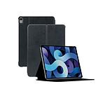 Mobilis Coque de Protection Folio pour iPad Air 4 10.9'' 2020, Smart Cover Étui Antichoc, Noir