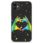 1001 Coques Coque silicone gel Apple iPhone 11 motif LGBT
