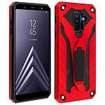 Avizar Coque Rouge pour Samsung Galaxy A6 Plus