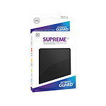 Ultimate Guard - 80 pochettes Supreme UX Sleeves taille standard Noir
