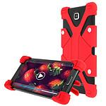Avizar Coque Rouge pour Smartphones de 5.3' à 6.0'