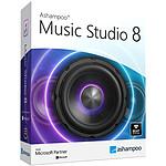 Ashampoo Music Studio 8 - Licence perpétuelle - 1 poste - A télécharger